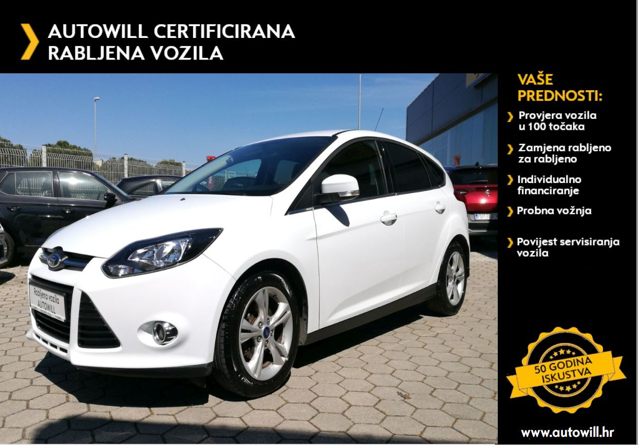 Ford FOCUS 1,0 GTDI TREND S