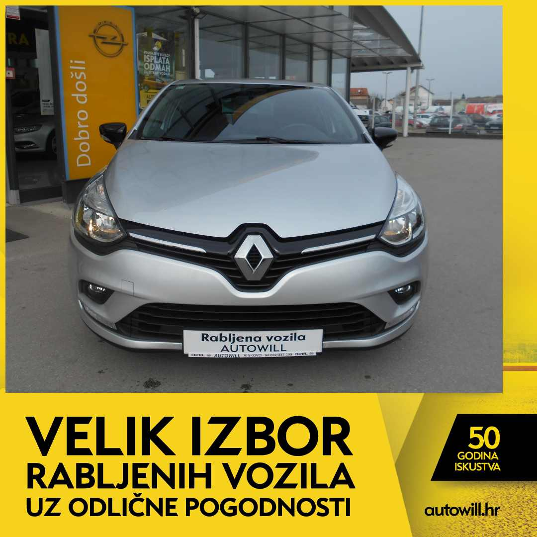 Renault CLIO 1,5 DCI LIMITED